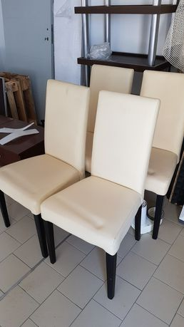 Krzesła 4 sztuki do jadalni, kuchni