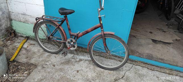 Велосипед водан складной 24 колеса