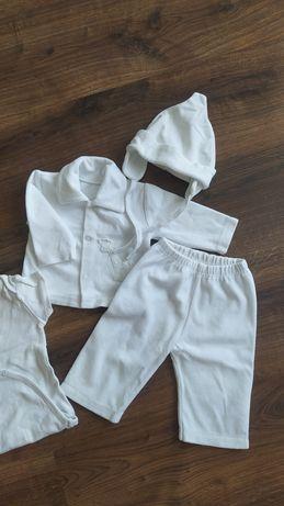białe ubranko do chrztu dla chłopca 62 / chłopiec chrzest