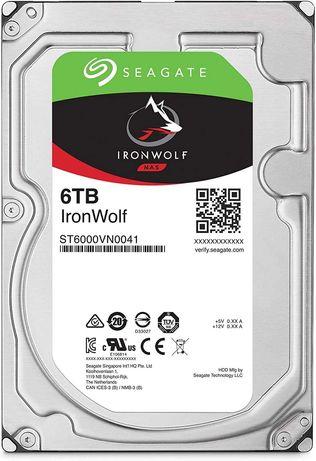 Внутренние жёсткие диски Seagate IronWolf 6TB, 10TB, 14TB, 18TB HDD