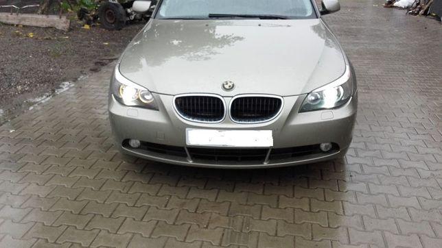 BMW e60 cał na części