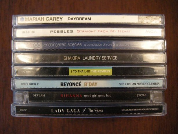 CD Care Pebbles Des'ree Shakira Lopez Beyoncé Rihanna Gaga фирменный