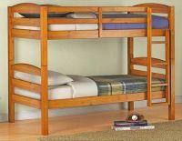 двухъярусная деревянная кровать Эльдорадо-36 ольха