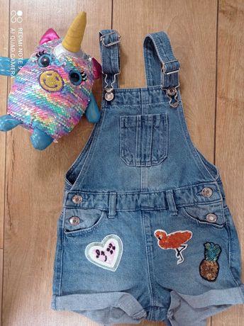 Дитячий брендовий  джинсовий комбінезон