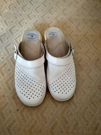 Buty medyczne białe r. 38