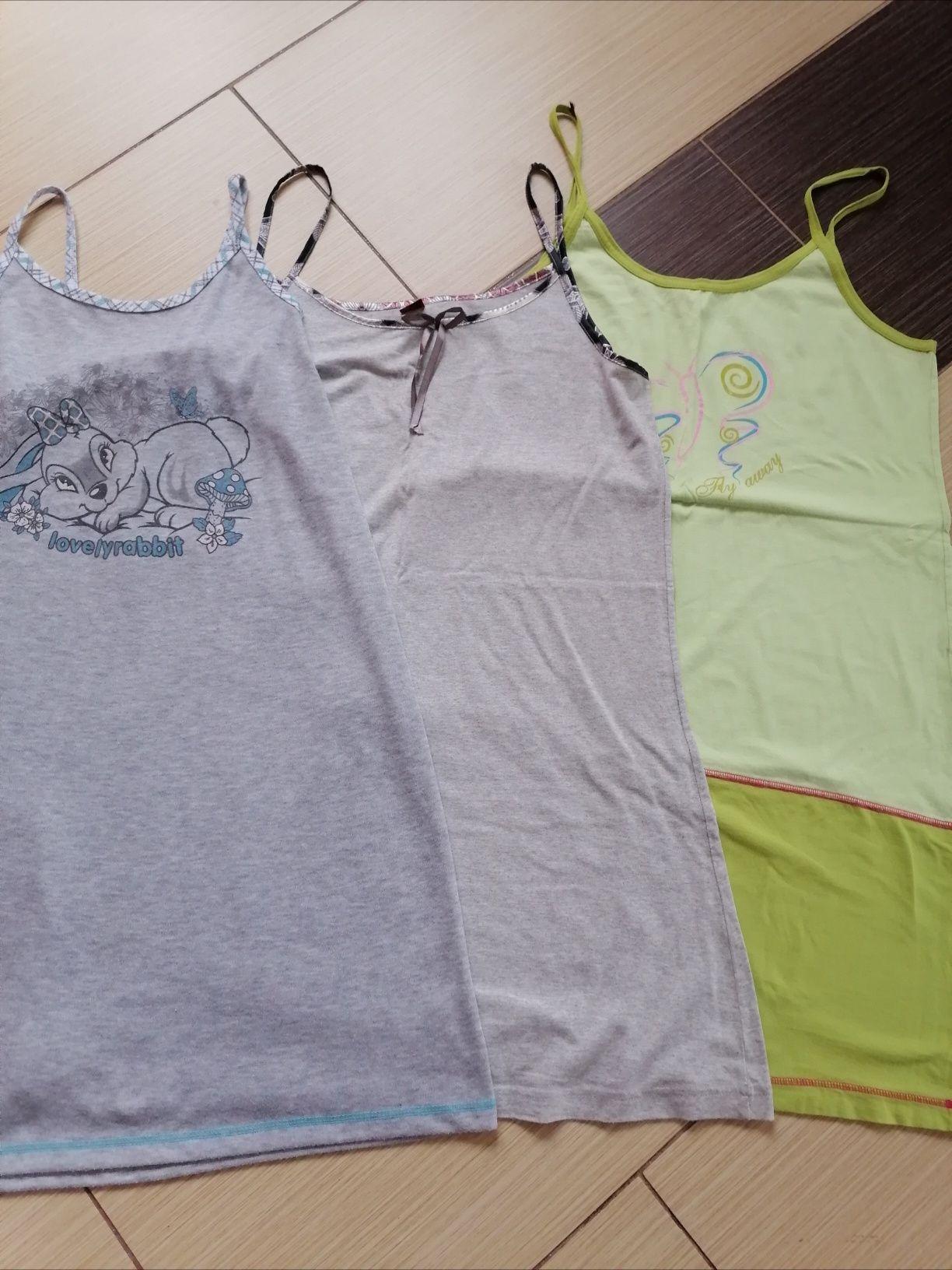 3 koszulki na ramiączkach r. L/XL