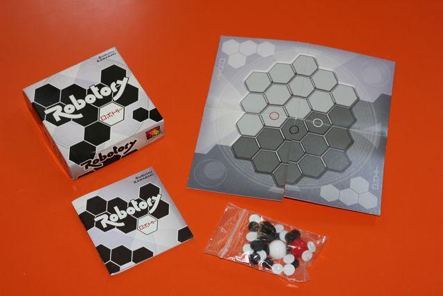 ROBOTORY mini gra logiczna od Asmodee 2 os. 8L+ BDB+