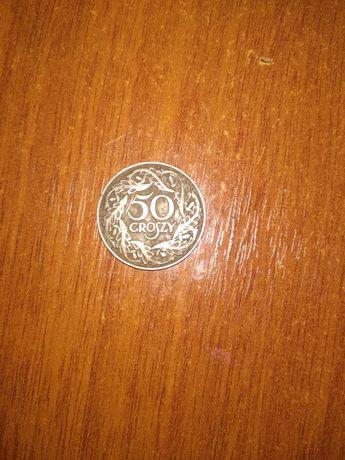Монета 50 грош старовина