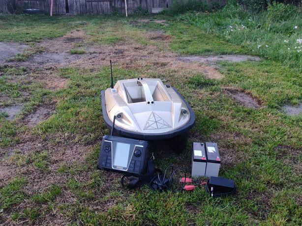 Łódka zanętowa prisma 5.1 echo/GPS/fish