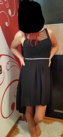 sukienka asymetryczna S