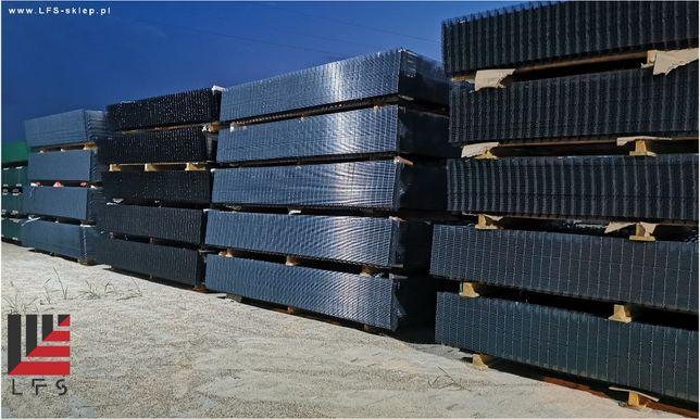 panel ogrodzeniowy/slupek/ogrodzenie panelowe 120 grafit