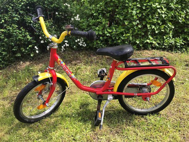 """Rower 16"""" dziecięcy, Puky stalowy, Bardzo dobry stan, Polecam"""