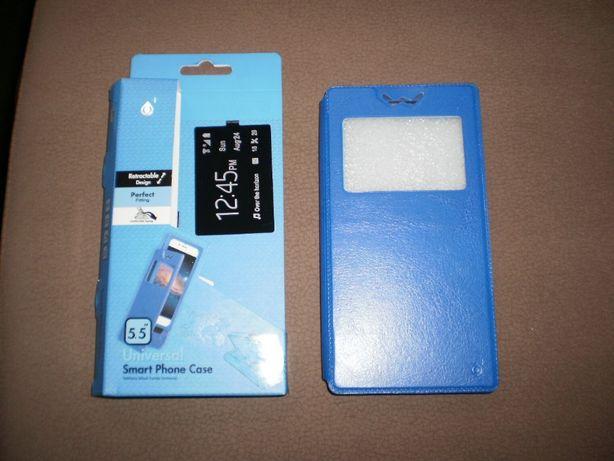 """Capa/bolsa telemóvel 5.5"""", nova."""