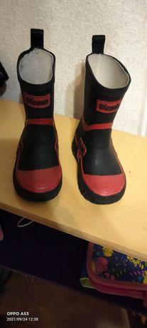 Резинові чобітки,,чоботи,резиновие сапоги 23 розмір