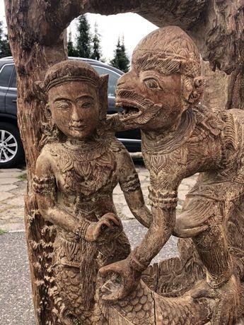 Rzeźba w stylu orientalnym