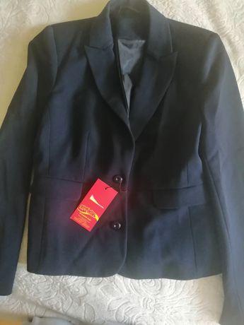 Піджак темно-синій для дівчинки