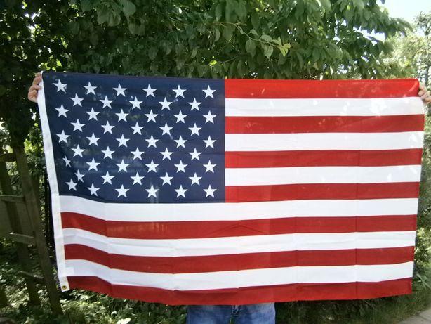 Флаг США с металлическими люверсами 90 x 150 cм. Германия. арт.7850