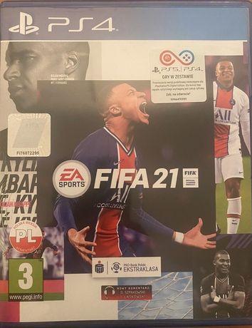 Nowa Fifa 21 na ps4