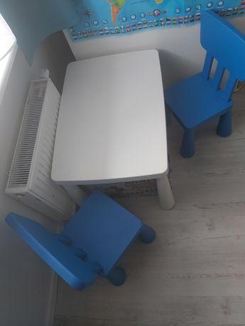 Mamut stolik i krzesła zestaw IKEA