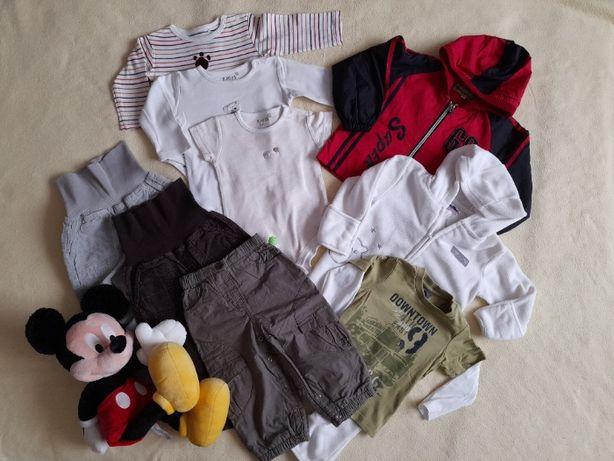 Zestaw ubrań dla chłopca 12 miesięcy. Zestaw 14.