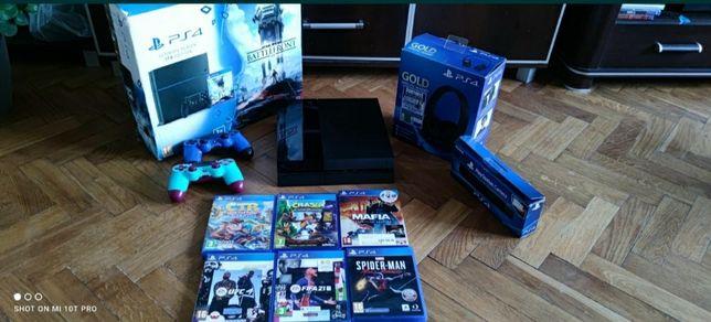 Konsola Sony PS4 PlayStation 4 Pady Gry Zamiana Ps3 Xbox 360
