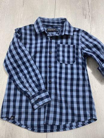 Koszula Reseved w kratę kratkę
