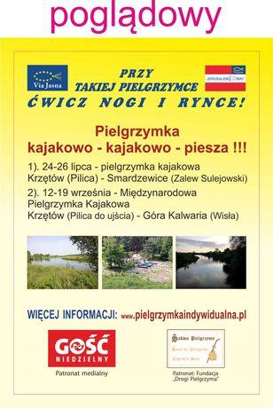 Potrzebny transport do 3,5 t dla rowerów z Krzętowa do Sulejowa.