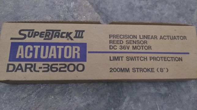 Actuador Antena 200mm 36v Novo