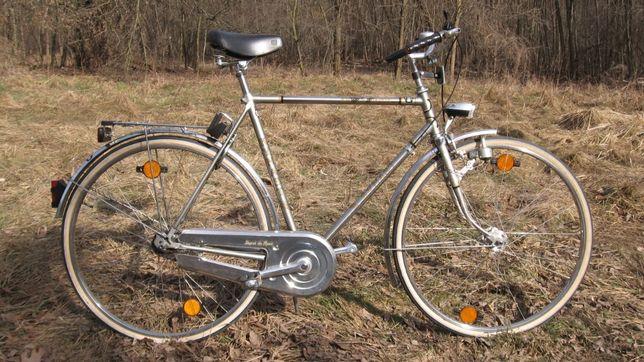 Niemiecki klasyczny rower Kynast Krupp Nirosta
