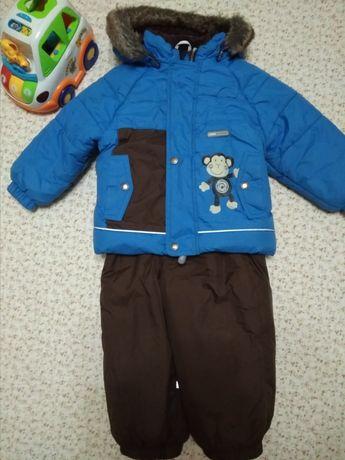Зимний комбинезон, комплект Lenne 1-2г  Куртка