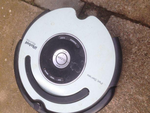 części złom elektroniczny iRobot roomba pet series 564 uszkodzony