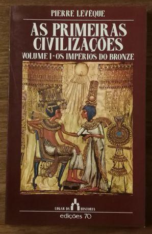 as primeiras civilizações, pierre leveque, edições 70