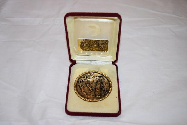 Okolicznościowy medal z brązu
