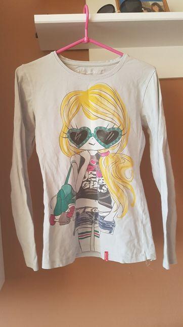 Zestaw bluzek dla dziewczynki rozmiar 158-164cm 2szt.