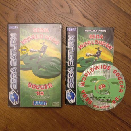 Sega Worldwide soccer 98 - edição portugal