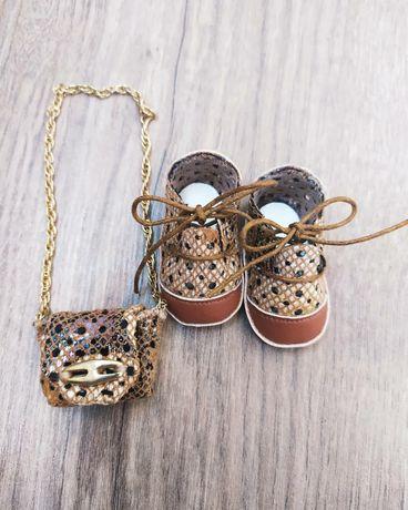 Обувь с сумочкой для куклы
