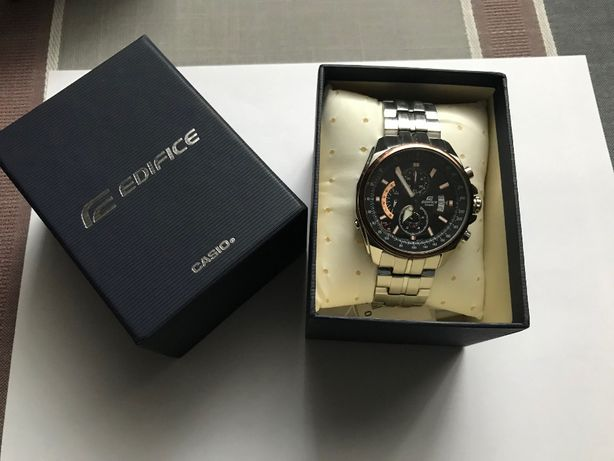 Zegarek męski Casio Edifice EFR-501D 1AVUDF, chronograph