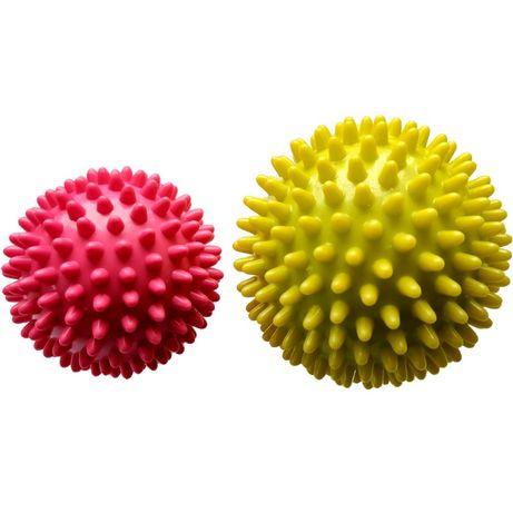 Piłki do masażu komplet 2 sztuki z kolcami