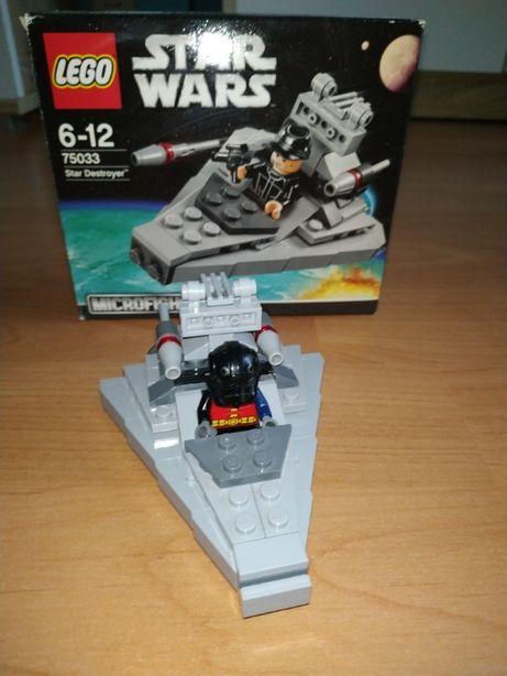 Lego 75033 Star Wars klocki Star Destroyer oryginalne pudełko
