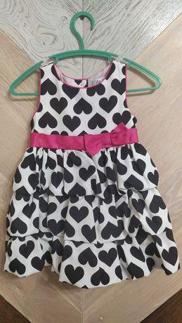 Нарядное платье на 12 месяцев