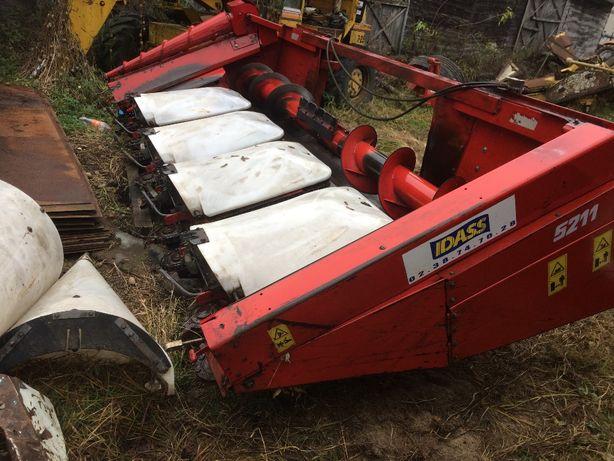 Przystawka do kukurydzy Idass oros 5 rzędów plastikowe, do new holland