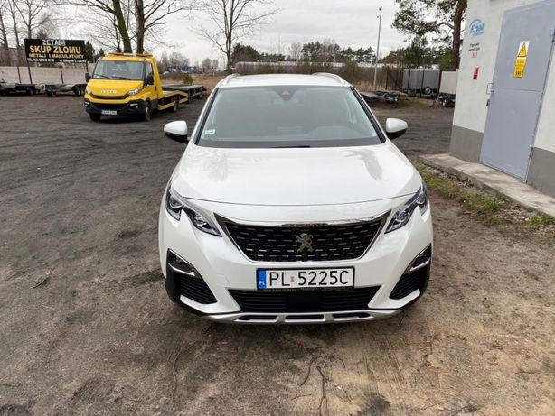 Wypozyczalnia Samochodu Wynajem Rent Peugeot 5008 Rawicz Góra Leszno