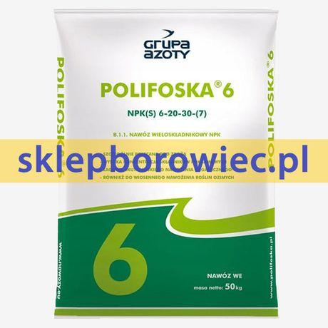 Polifoska NPK 6-20-30 nawóz 50kg sklepborowiec.pl