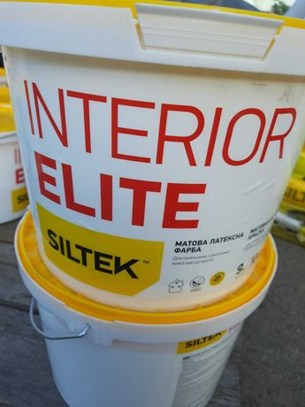 Краска матовая SILTEK Interior Elite