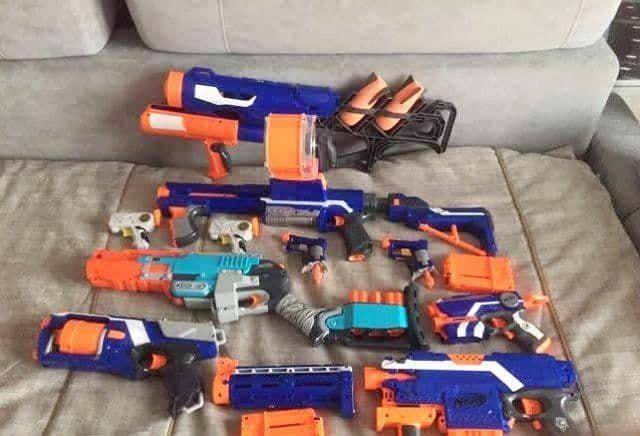 Комплект Nerf оружия