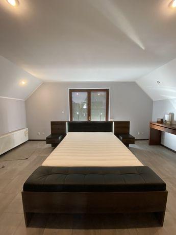 Łóżko FORTE  Bellevue 160 + szafki nocne komplet