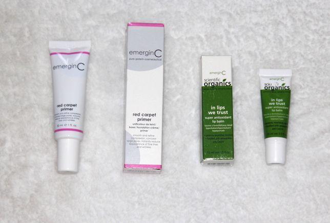 EmerginC Scientific Organics podkład pomadka szminka lancome guerlain