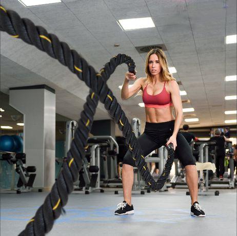 Cordas Fitness 12M Com Garantia 2 anos NOVAS