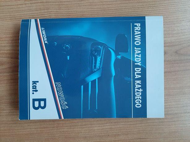 Książka z płytą na prawo jazdy