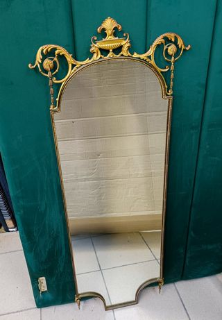Дзеркало зеркало барокко бронза
